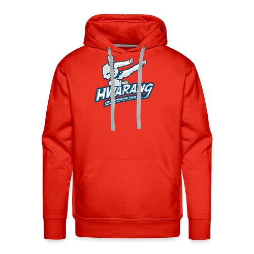 Hwarang logo v2 - Miesten premium-huppari