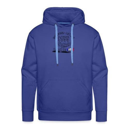 Les anciennes courses automobile - Sweat-shirt à capuche Premium pour hommes