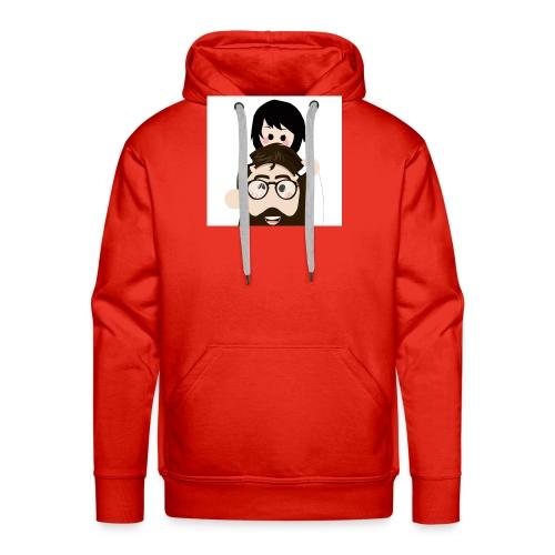 conJesus - Sudadera con capucha premium para hombre