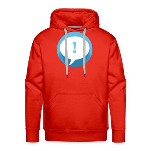 Phylactère - Sweat-shirt à capuche Premium pour hommes