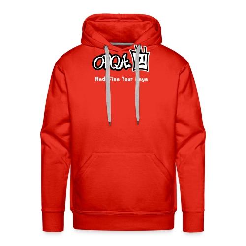 Logo OPQA - Sudadera con capucha premium para hombre