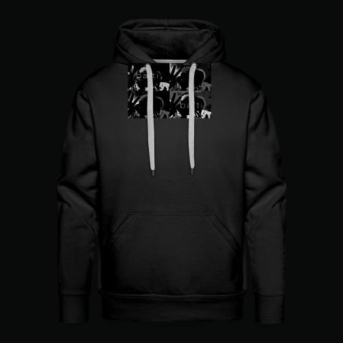 black bafti crew - Herre Premium hættetrøje