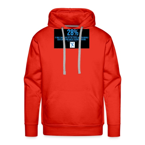 28% - Men's Premium Hoodie