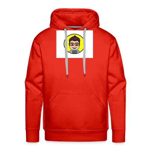 Youtube kanaal icon zonder naam - Mannen Premium hoodie