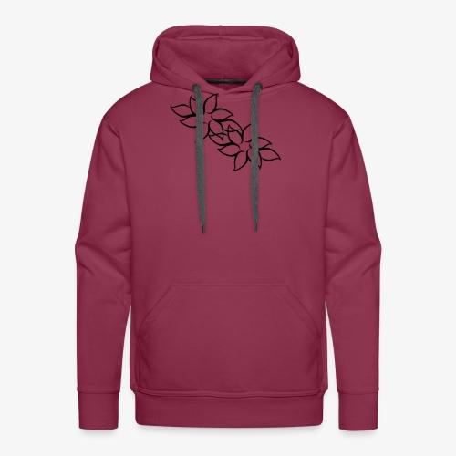 flowers - Herre Premium hættetrøje