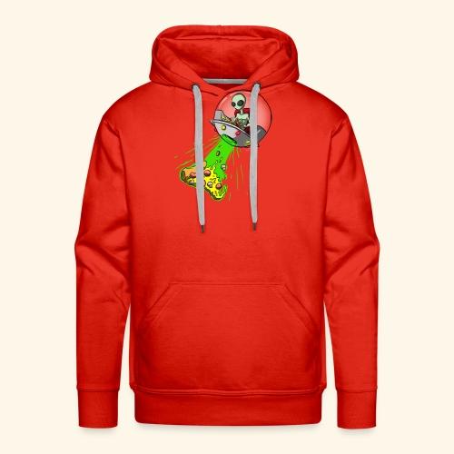 alienpizza - Sweat-shirt à capuche Premium pour hommes