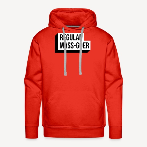 REGULAR MASS GOER - Men's Premium Hoodie