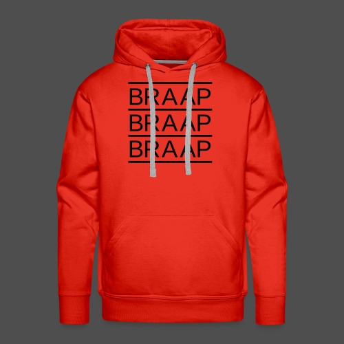 braap braap braap 0BR02 BL - Men's Premium Hoodie