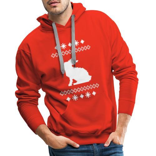 Norwegerhase hase kaninchen häschen bunny langohr - Männer Premium Hoodie