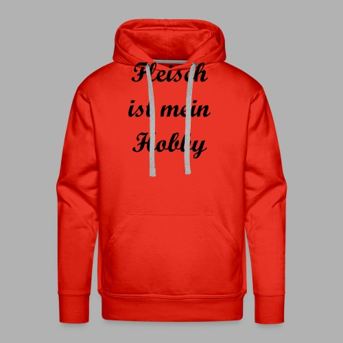 Fleisch ist mein Hobby - Männer Premium Hoodie