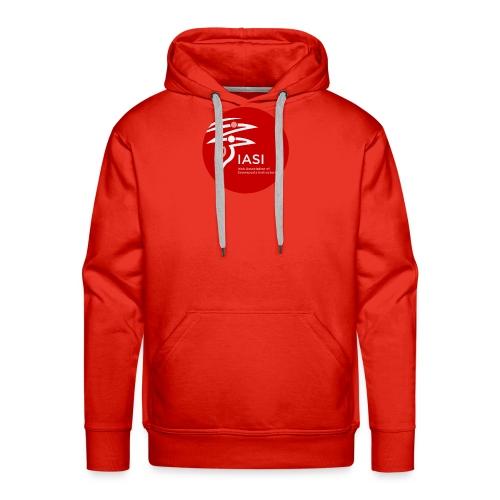 iasi red c60000 - Men's Premium Hoodie