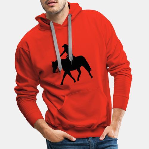 Ranch Riding extendet Trot - Männer Premium Hoodie