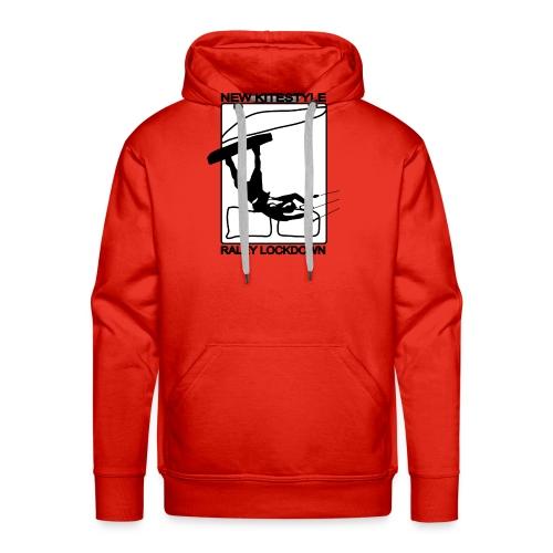 LOCKDOWN KITESTYLE - Sweat-shirt à capuche Premium pour hommes