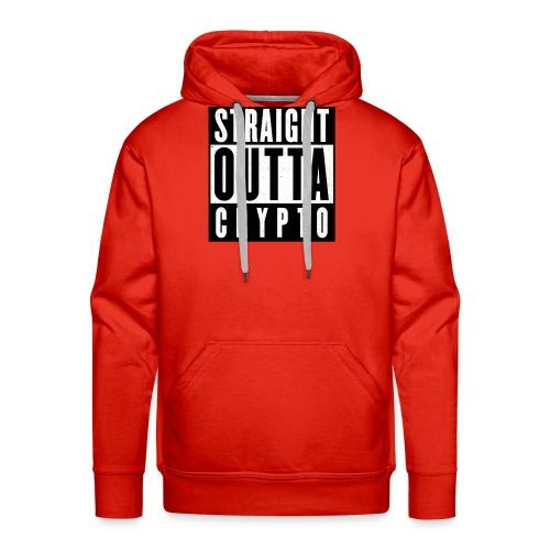 Straight Outta Crypto - Men's Premium Hoodie