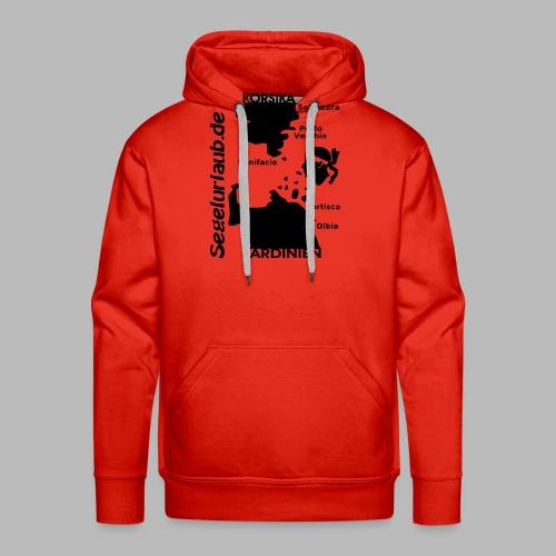 Korsika Sardinien Mori Shirt - Männer Premium Hoodie