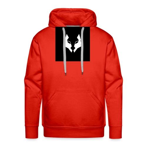 La Meute Big Logo - Sweat-shirt à capuche Premium pour hommes