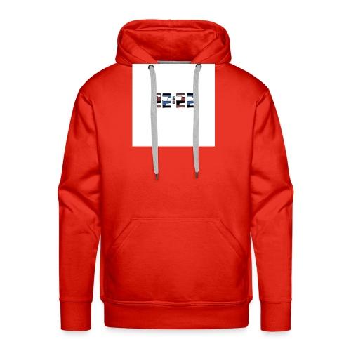 22:22 buttons - Mannen Premium hoodie