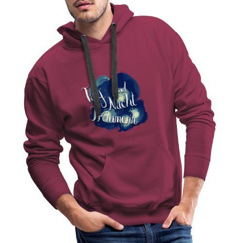 Tag- und Nachtträumerin - Männer Premium Hoodie