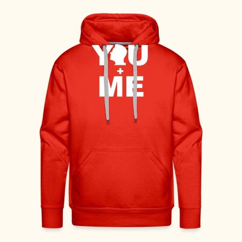 Partner - Shirt You and Me Frau III - Männer Premium Hoodie