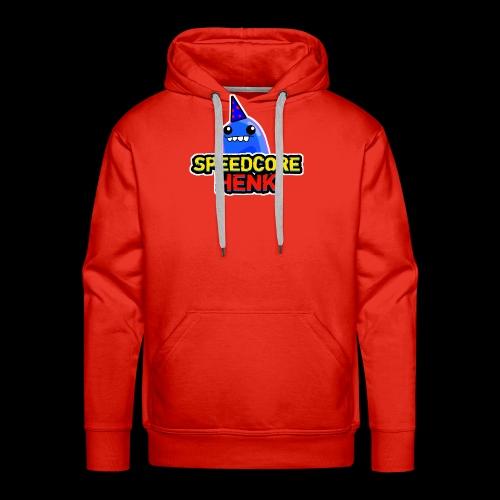Speedcore Henk Logo 2017 - Mannen Premium hoodie