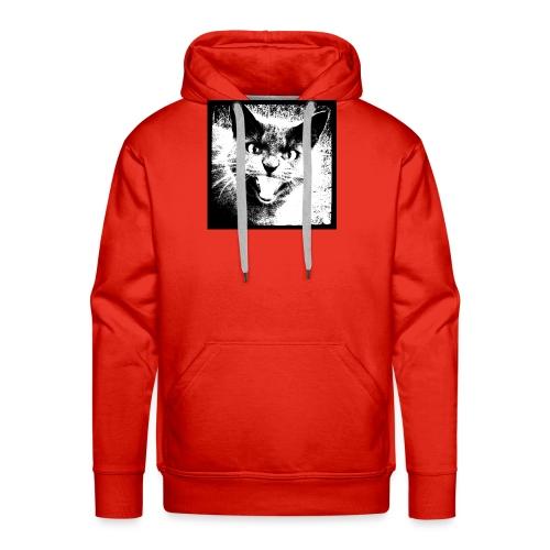 wild cat - Men's Premium Hoodie
