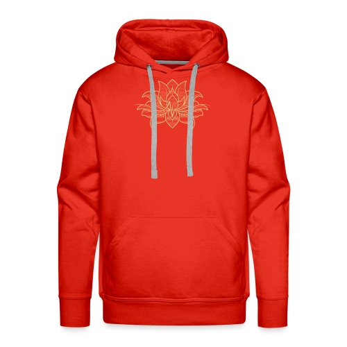 In-Extremis du lotus - Sweat-shirt à capuche Premium pour hommes