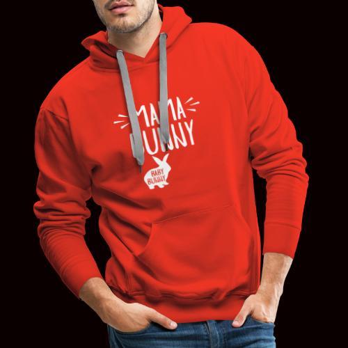 Mama Bunny Schwangerschaft - Männer Premium Hoodie