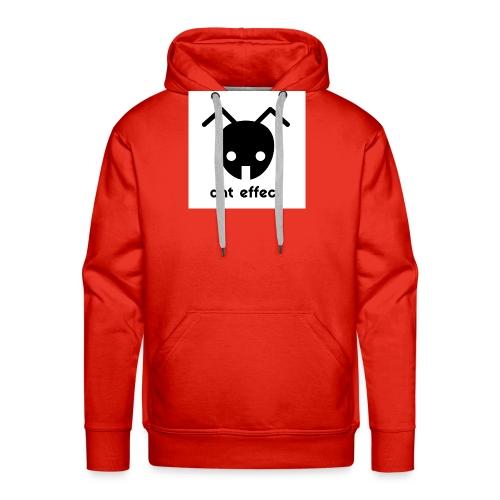 ant effect logo - Männer Premium Hoodie