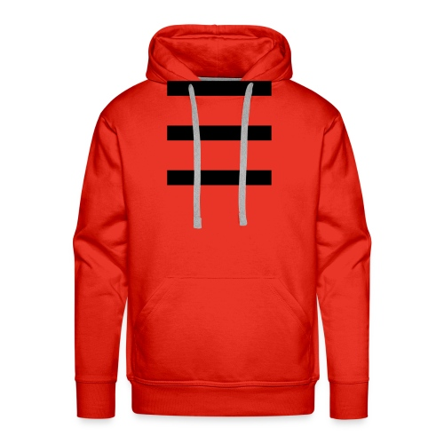 stripe 01 - Men's Premium Hoodie