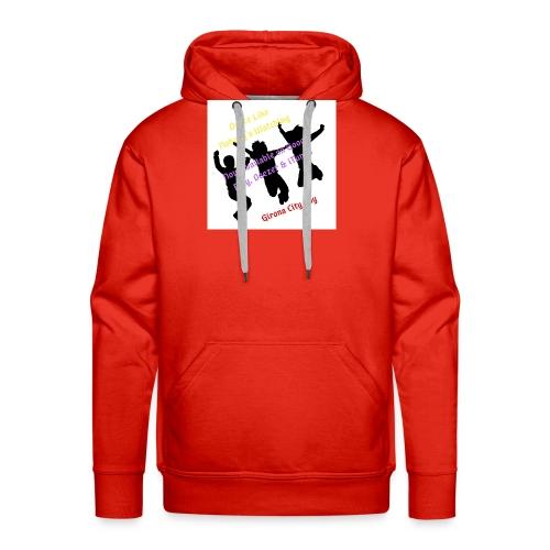 Dance3 - Sudadera con capucha premium para hombre
