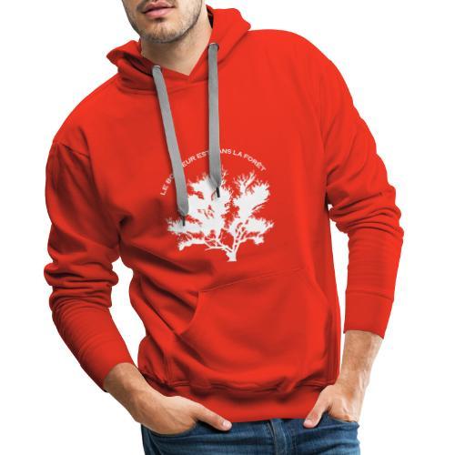 Le bonheur est dans la foret ! - Sweat-shirt à capuche Premium pour hommes