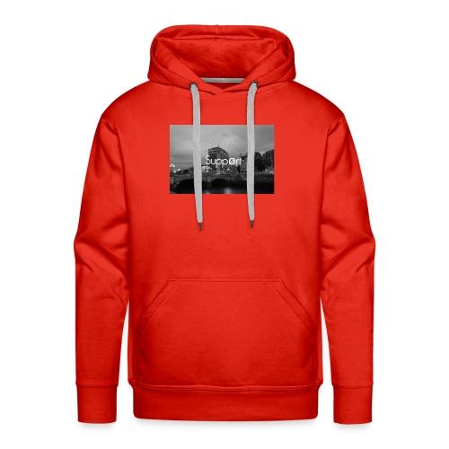 Suppørt - Mannen Premium hoodie
