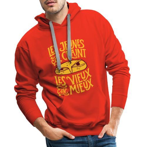 les jeunes ça craint - Sweat-shirt à capuche Premium pour hommes