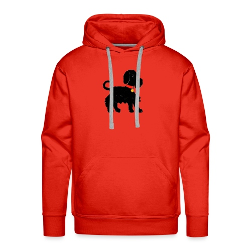 Schnauzer dog - Men's Premium Hoodie