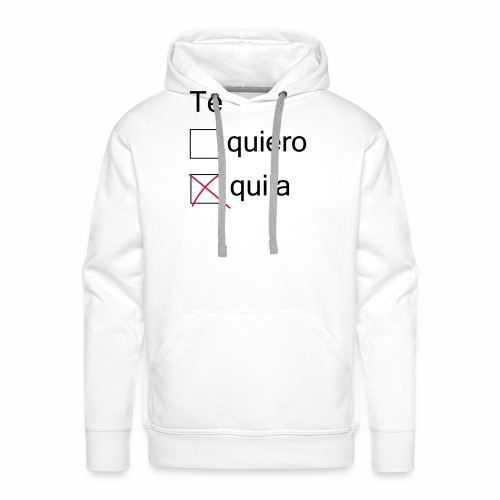 tequila - Sweat-shirt à capuche Premium pour hommes