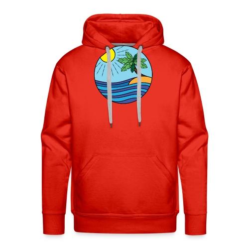 Strand Bunt - Männer Premium Hoodie