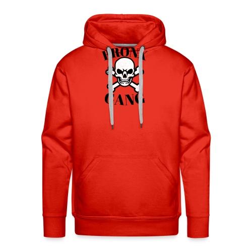 tête de mort gang - Sweat-shirt à capuche Premium pour hommes