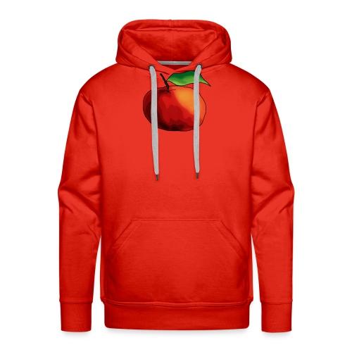 mela-png - Felpa con cappuccio premium da uomo