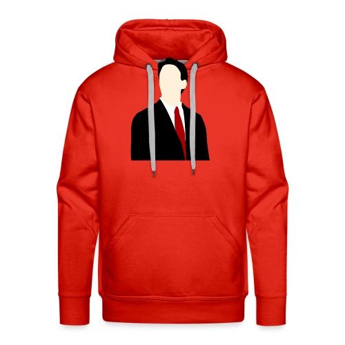 Ed Miliband silhouette - Men's Premium Hoodie