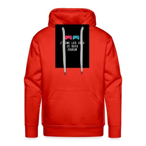 JEU - Sweat-shirt à capuche Premium pour hommes