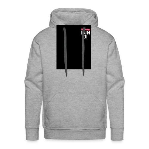 LUNDI - Sweat-shirt à capuche Premium pour hommes