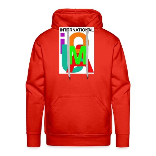 IUOMA International - Mannen Premium hoodie