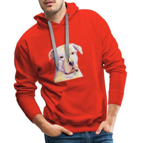 dogo argentino - Herre Premium hættetrøje