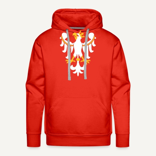 Orzeł Piastowski - Bluza męska Premium z kapturem