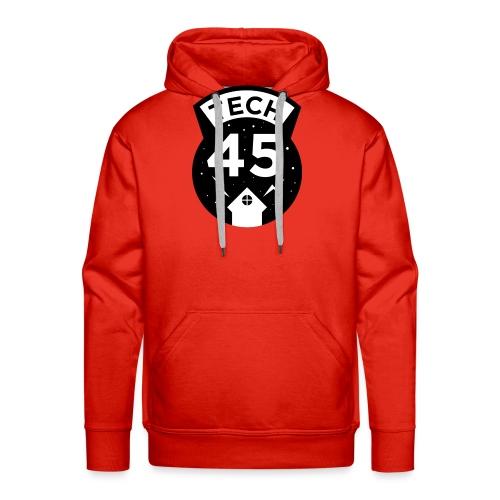 Tech45 logo - Mannen Premium hoodie