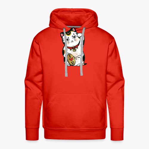 Love Lucky Cat - Men's Premium Hoodie