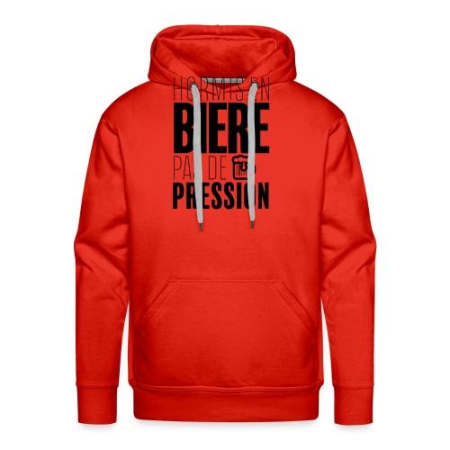 Pas de pression - Sweat-shirt à capuche Premium pour hommes