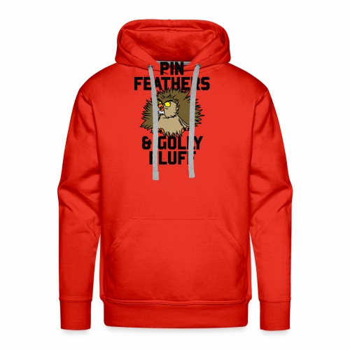 Archimedes - Pin feathers and golly fluff - Men's Premium Hoodie