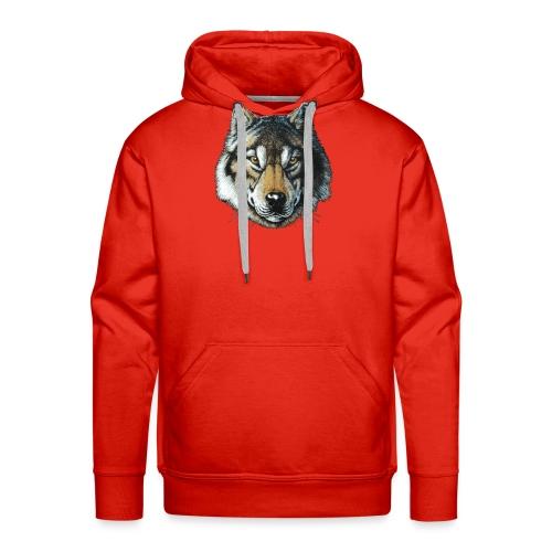 wolf - Herre Premium hættetrøje