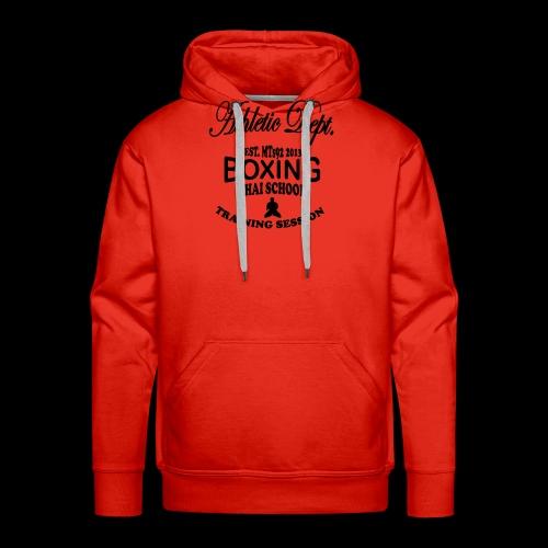 (high_school_couleur_uni) - Sweat-shirt à capuche Premium pour hommes